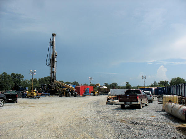 Natural Gas Drilling Mt. Vernon in Faulkner County
