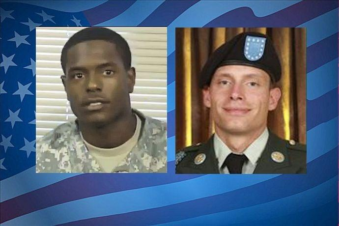 Pvt. Quinton Ezeagwula and Pvt. William Long recruiters shot