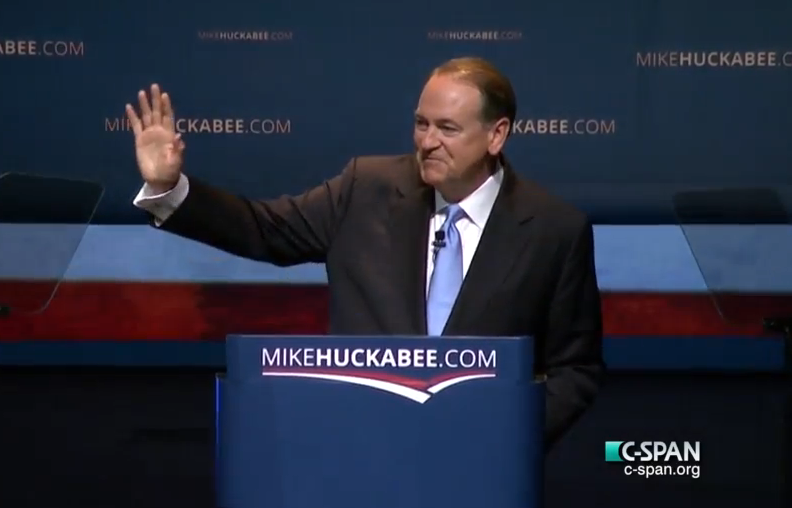 2016 GOP presidential primary candidate Mike Huckabee.