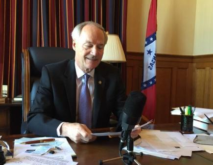 Governor Asa Hutchinson radio address