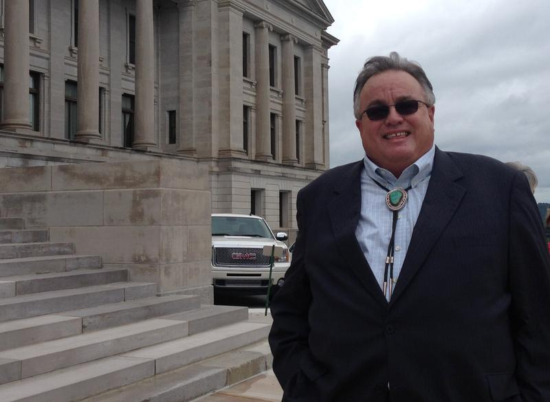 Quapaw Tribe Chairman John Berrey at the Arkansas State Capitol.