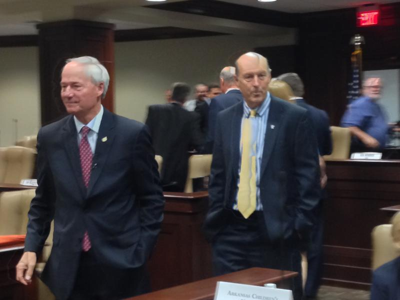 Governor Asa Hutchinson John Selig Medicaid DHS Department of Human Services