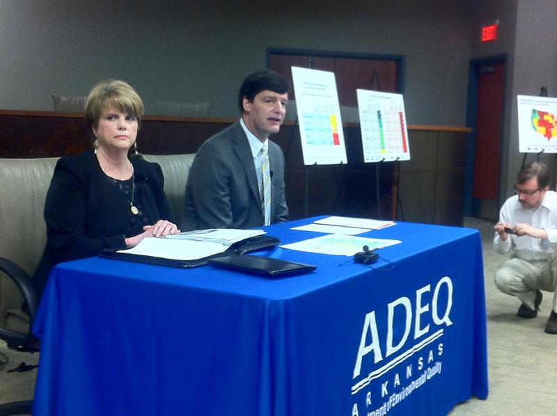 ADEQ Clean Power Plan ADEQ Director Becky Keogh and APSC Chairman Ted Thomas