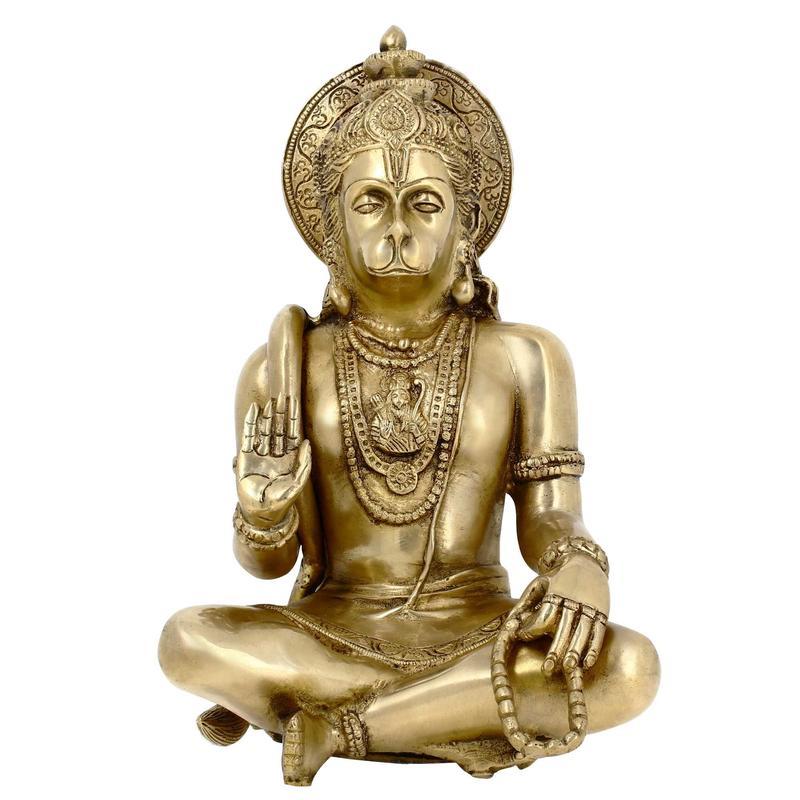 Lord Hanuman hindu statue