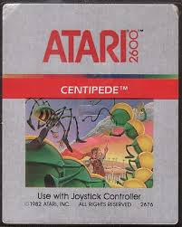 An early version of the Atari classic Centipede.