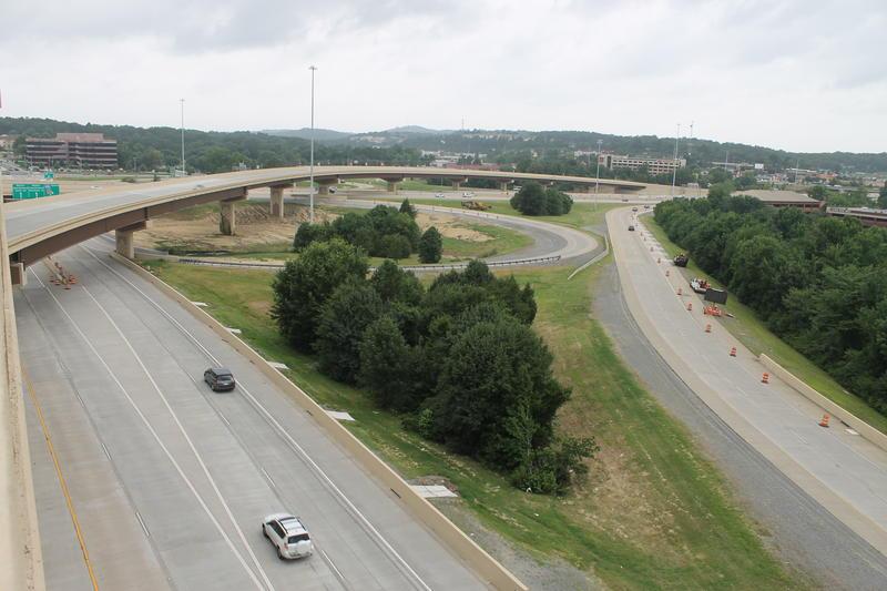 Interstate highway big rock interchange interstates 630 430