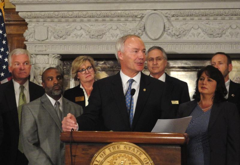Governor Asa Hutchinson Healthy Active Arkansas