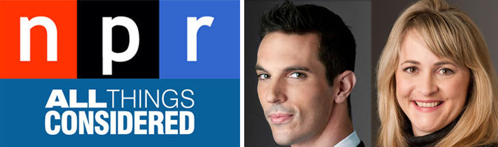 Ari Shapiro and Kelly McEvers are new hosts for NPR's All Things Considered.