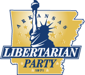 Arkansas Libertarian Party logo.