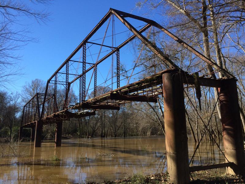 Saline Old River Bridge