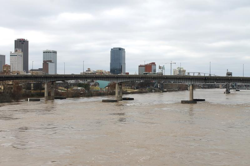 Arkansas River Downtown