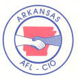 Arkansas AFL-CIO logo.