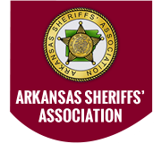 Arkansas Sheriffs' Association Logo.