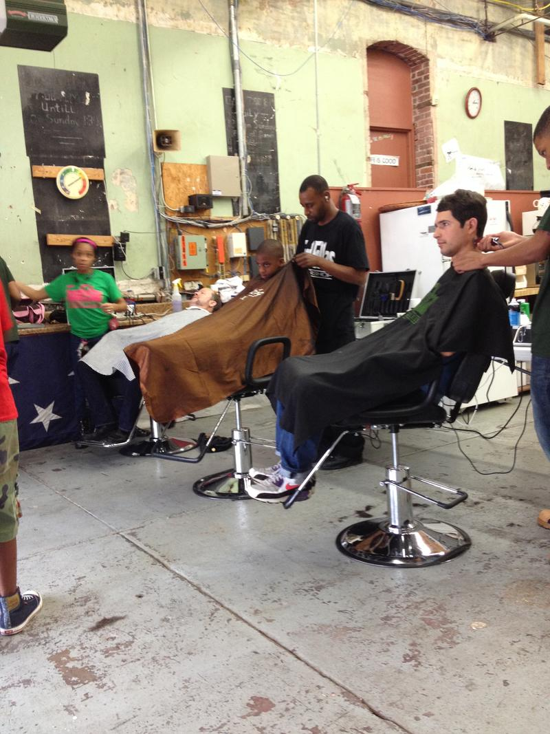 Goodfellas' Pop Up barbershop beneath the Dreamland Ballroom