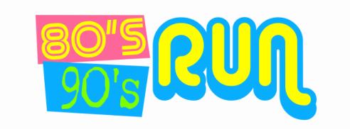 80's 90's Run Logo