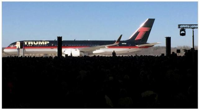 Trump campaign plane