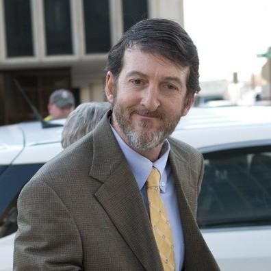 File photo: Former Circuit Court Judge Michael Maggio outside of federal court in Little Rock.