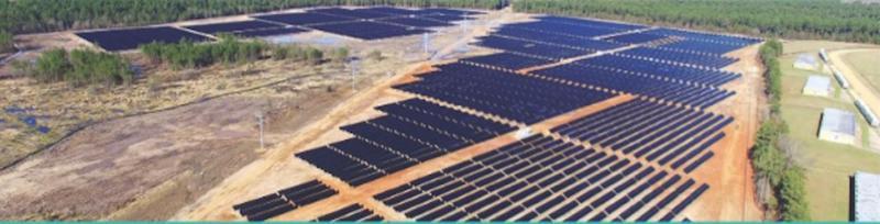 solar array aerojets solar field