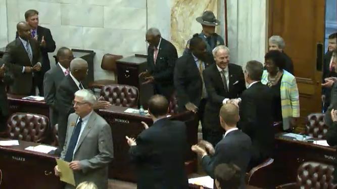 Governor Asa Hutchinson legislature