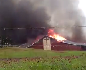 El Dorado Church Fire