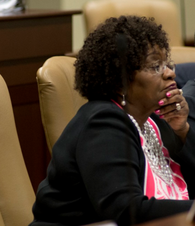 File. State Sen. Linda Chesterfield (D-Little Rock).
