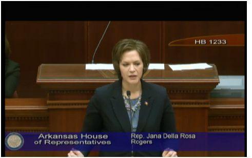 File. State Rep. Jana Della Rosa (R-Rogers).