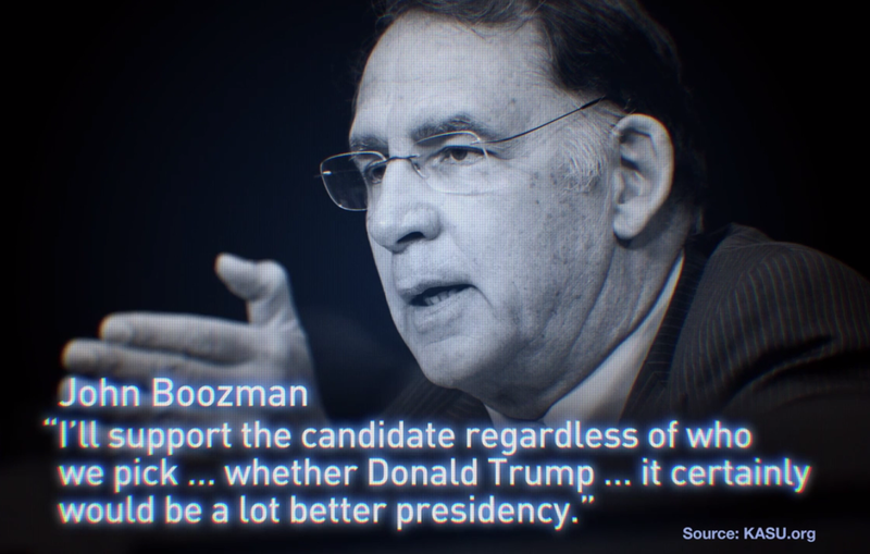 John Boozman Conner Eldridge Senate Advertising campaign ad