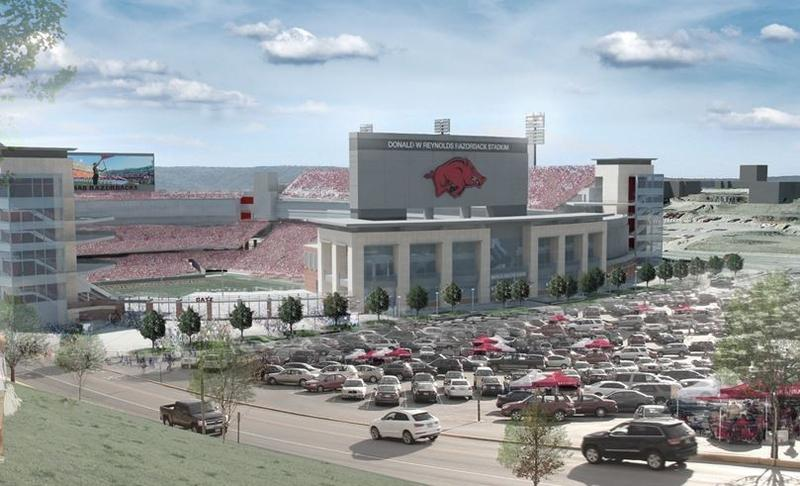 Razorback Stadium Arkansas Razorbacks University of Arkansas