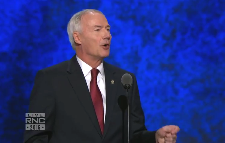 Asa Hutchinson Republican National Convetion