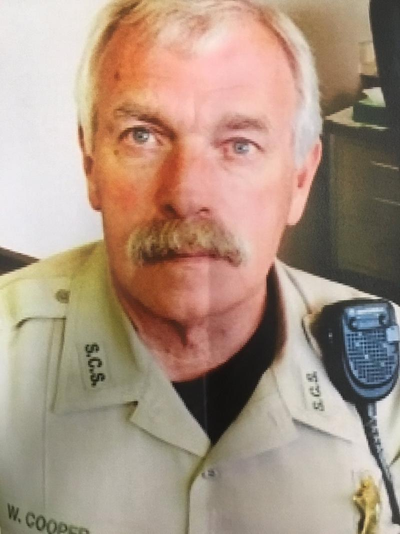 Sebastian COunty Sheriff's Deputy Bill Cooper
