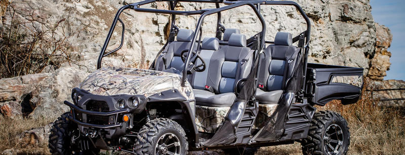 A 4x4 utility vehicle sold by Intimidator Inc.
