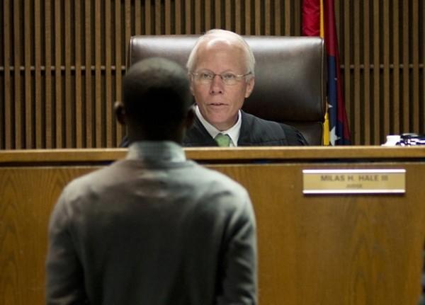 "Judge Milas ""Butch"" Hale Hot bounded checks sherwood"