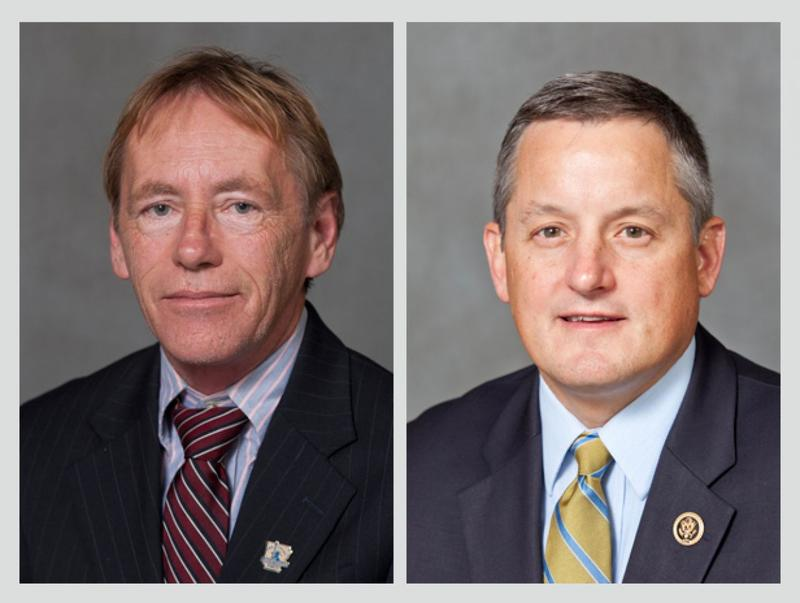 Candidates for the 4th District seat: Libertarian Kerry Hicks and Republican incumbent Bruce Westerman.