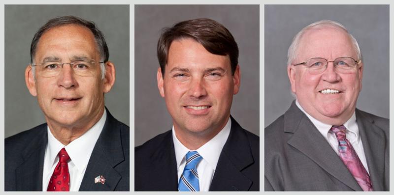 Senate John Boozman, Conner Eldridge, Frank Gilbert