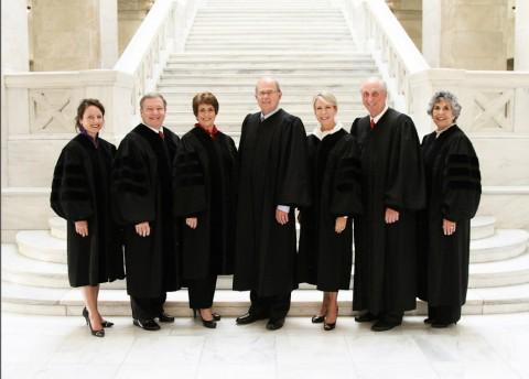 The Arkansas Supreme Court in 2015.