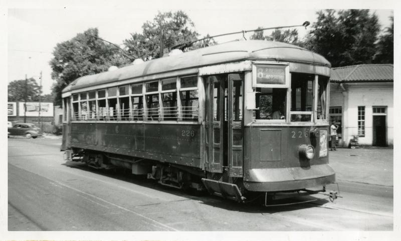 A streetcar from Little Rock's past.