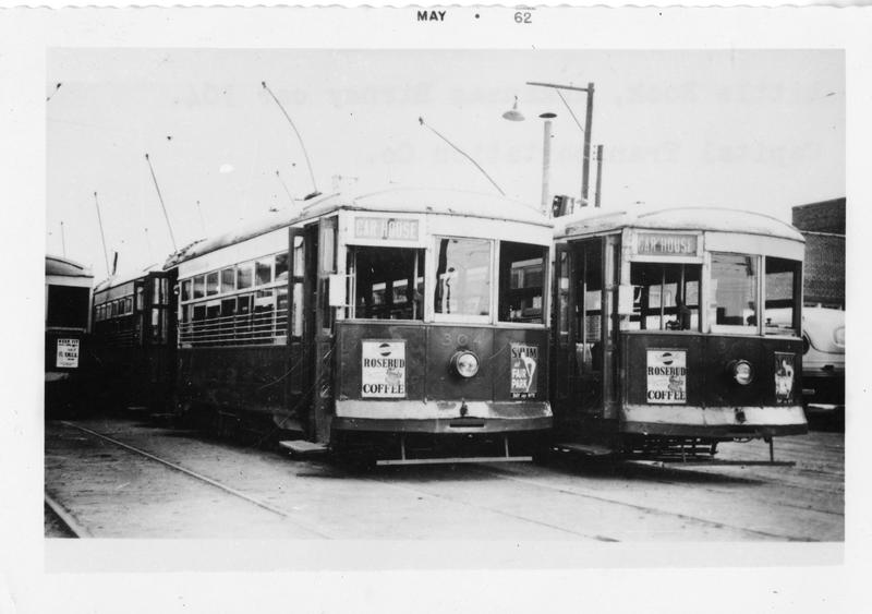 More streetcars from Little Rock's past.