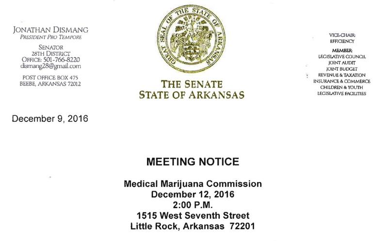 The Medical Marijuana Commission meets today.