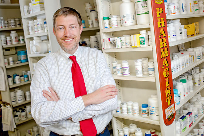 Scott Pace is the CEO of the Arkansas Pharmacists Association.
