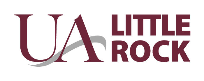 The University of Arkansas at Little Rock's new, abbreviated name and logo.