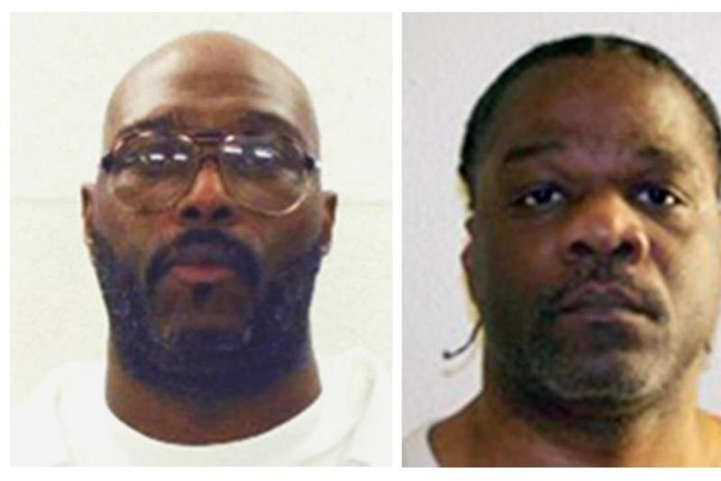Death row inmates Stacey E. Johnson, left, and Ledelle Lee, both scheduled for execution on April 20, 2017.