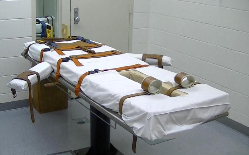 Arkansas Death Chamber Lethal Injection