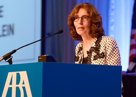 American Bar Association President Linda Klein