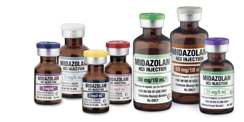 midazolam injections