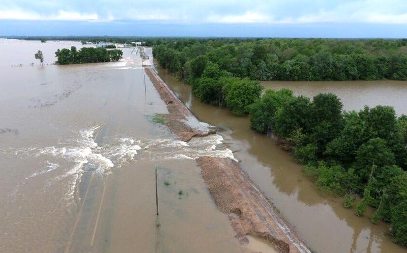 Flooding Black River Pocahontas