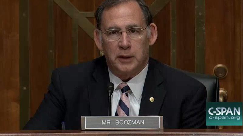 U.S. Senator John Boozman (R-Ark.)