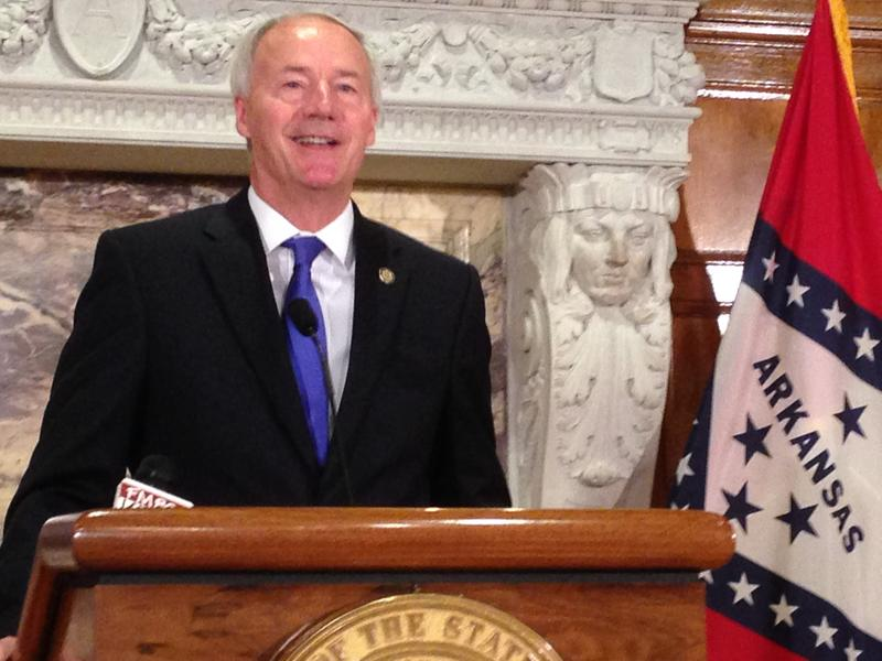 Gov. Asa Hutchinson outlines changes he wants made to the Republican healthcare plan in the U.S. Senate.