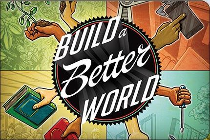 "The theme for 2017's nationwide summer reading program is ""Build a Better World."""