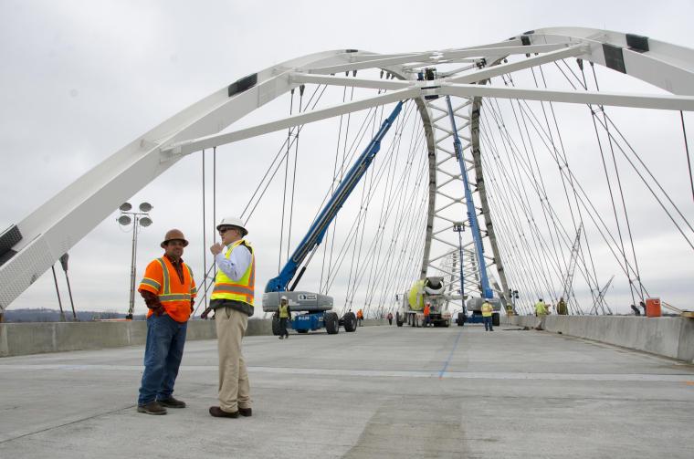 Broadway Bridge in Arkansas