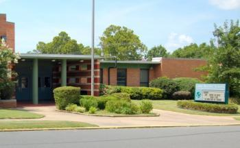 Gibbs Magnet Elementary School in Little Rock.